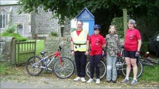 Suffolk Historic Churches Trust Sponsored Bike Ride