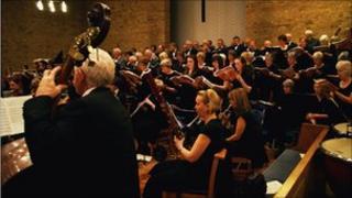 Singers perform at Nunthorpe Methodist Church