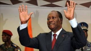Alassane Ouattara. File photo