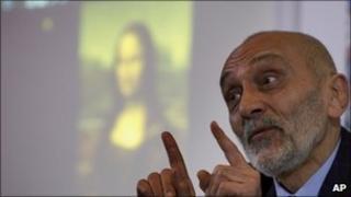Art historian Silvano Vinceti