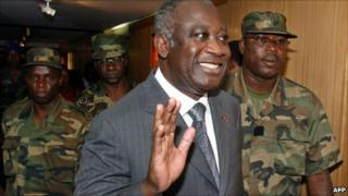 Laurent Gbagbo in 2002