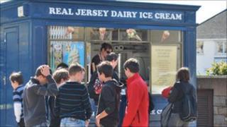 Jersey Dairy Ice Cream stand