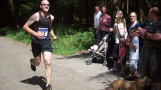 Marathon runner James Dowdall