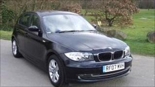 The stolen BMW
