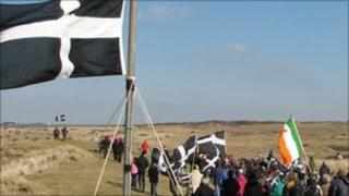 St Piran's Day celebrations in March