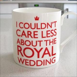 'Couldn't care less' mug