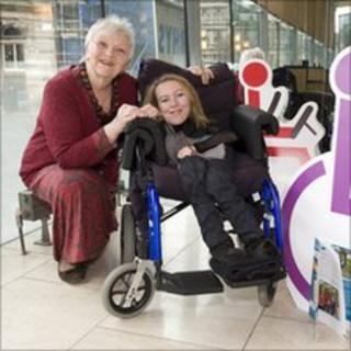 Eileen McCallum and campaigner