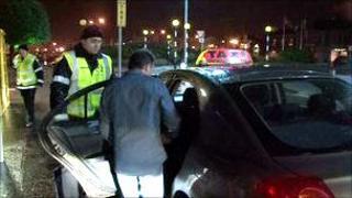 Taxi marshals