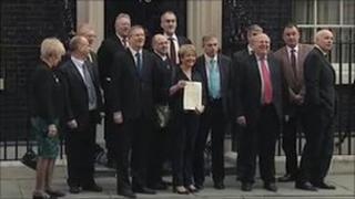 MPs at 10 Downing Street