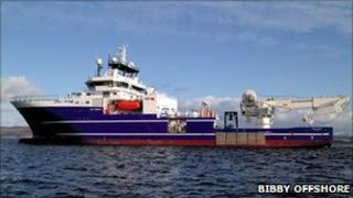 Bibby Topaz [Pic: Bibby Offshore]