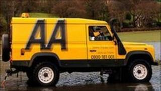 Picture of AA truck