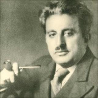Photo of Ameen Rihani, author of The Book of Khalid, 1939