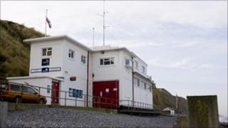 The lifeboat station at Sheringham