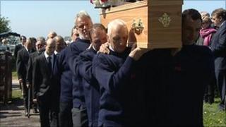 Neil Murray funeral