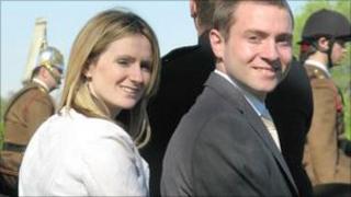 Christian Spurr and Leonnie McCrann