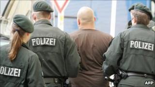 Arrest in Germany - Jun 08 file pic