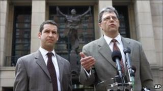 Defence attorneys Todd Richman (left) and Kenneth Troccoli (right)
