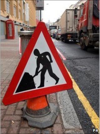 Roadworks sign - generic