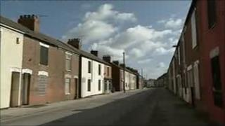 Empty houses in West Hull