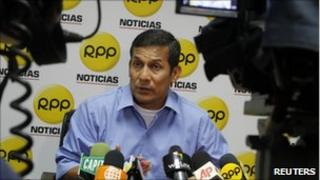 Ollanta Humala on RPP