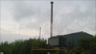 The coking and chemical plant at Royston