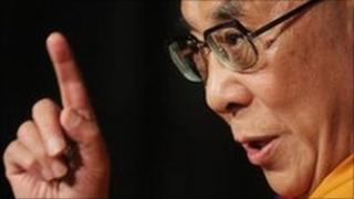 The Dalai Lama said the killing of Ronan Kerr was 'senseless'