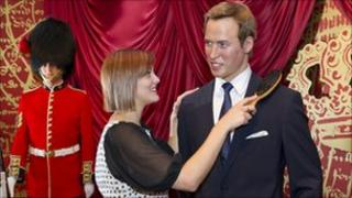 Prince William's waxwork getting a makeover