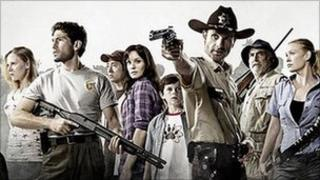 Publicity picture for Walking Dead drama
