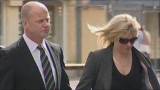 Richard and Stacey Kremer arriving at the inquest