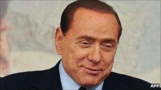 Italian Prime Minister Silvio Berlusconi, 13 April 2011.