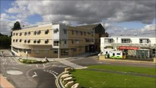 Artist impression of Frimley Hospital