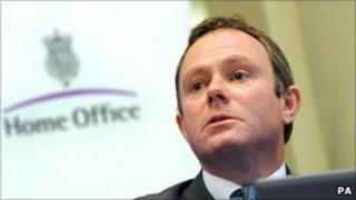Policing Minister Nick Herbert