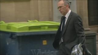 Jonathan Garston-Hunt leaving court