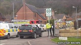 Police respond to explosion in Kilsyth