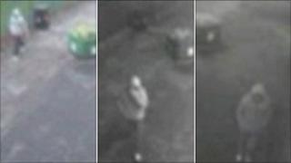CCTV from area of attack