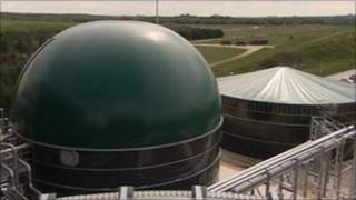 GWE Biogas plant