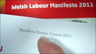 A typo in Welsh Labour's Welsh-language manifesto