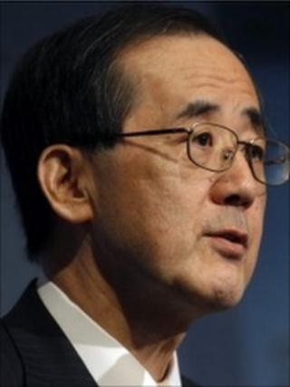 Masaaki Shirakawa, Governor of the Bank of Japan
