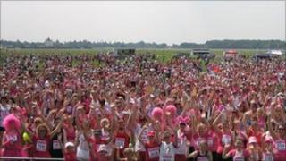 Race for Life on York's Knavesmire
