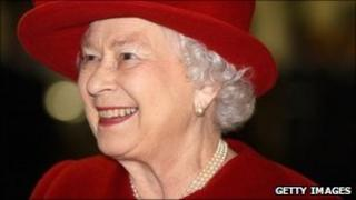The Queen on 1 April