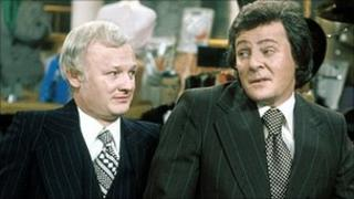 John Inman and Trevor Bannister