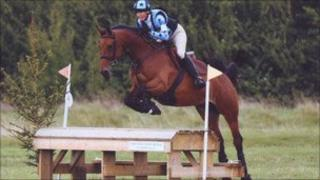 Sharon Ratcliffe and Coco