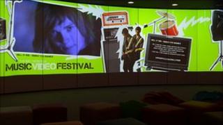 BBC Music Video Festival presentation