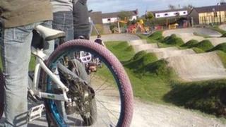 Treuddyn bike track