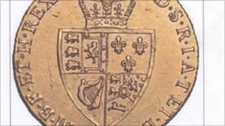 Stolen coin