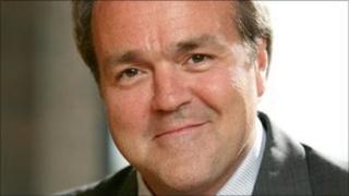 Michael Charlton, Isle of Man's director of international business development