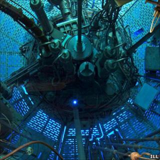 Neutron flux reactor (ILL)