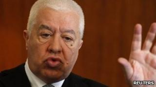 Portuguese Finance Minister Fernando Teixeira dos Santos