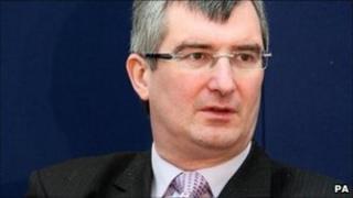 Ulster Unionist leader Tom Elliott
