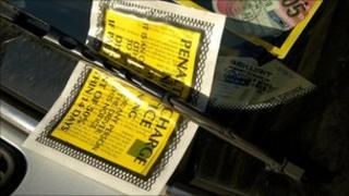Parking ticket generic